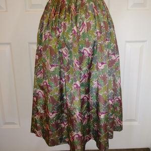 Woodland Bunny Silky Skirt